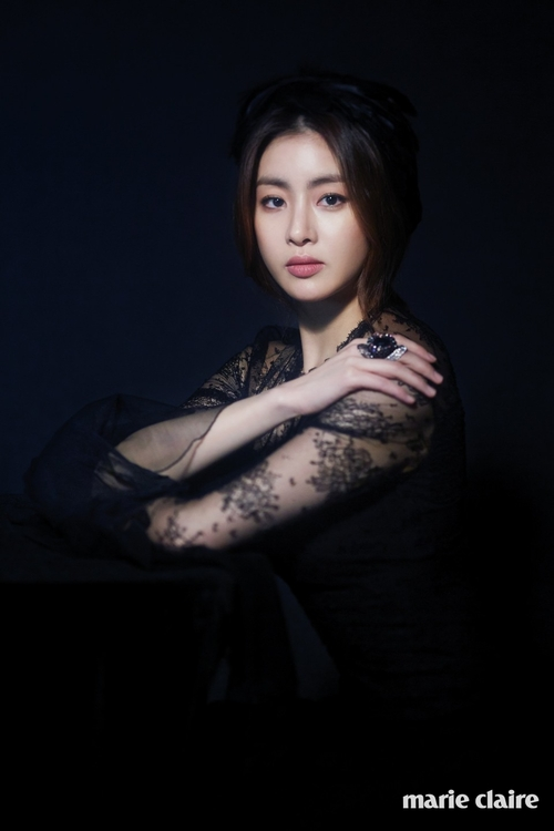Kang So Ra pour Marie Claire