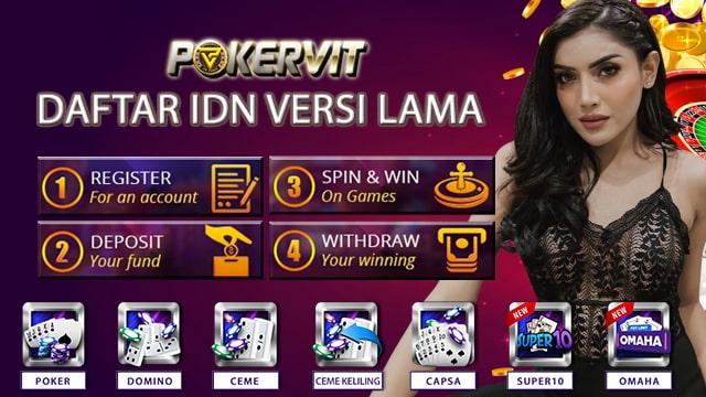 Daftar IDN Poker Versi Lama