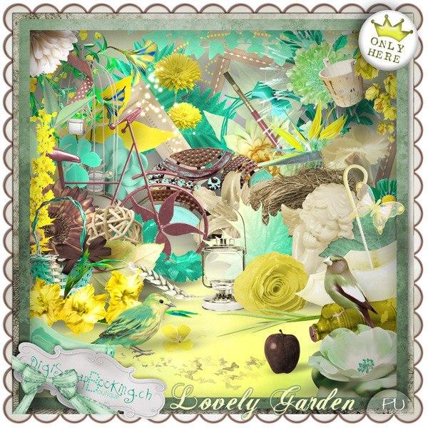 "Collab ""Lovely Garden"""