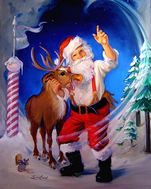 Susan Comish croit au Père Noël