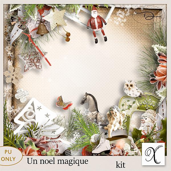 Un Noel magique Kit