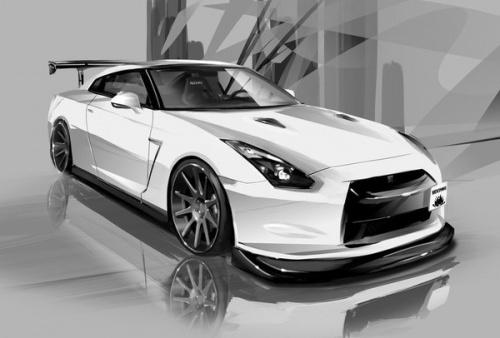 Belles images de voitures en noir et blanc.