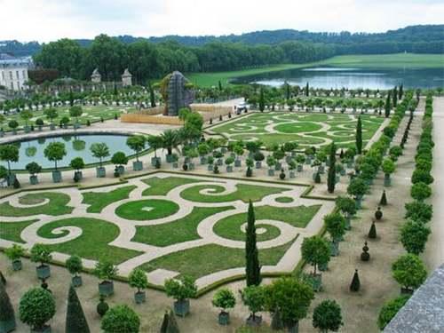 Les jardins de Le Nôtre