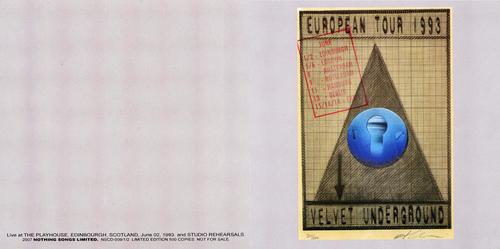 La Saga du Velvet - épisode 26: The Playhouse Edinbourg - 2 juin 1993
