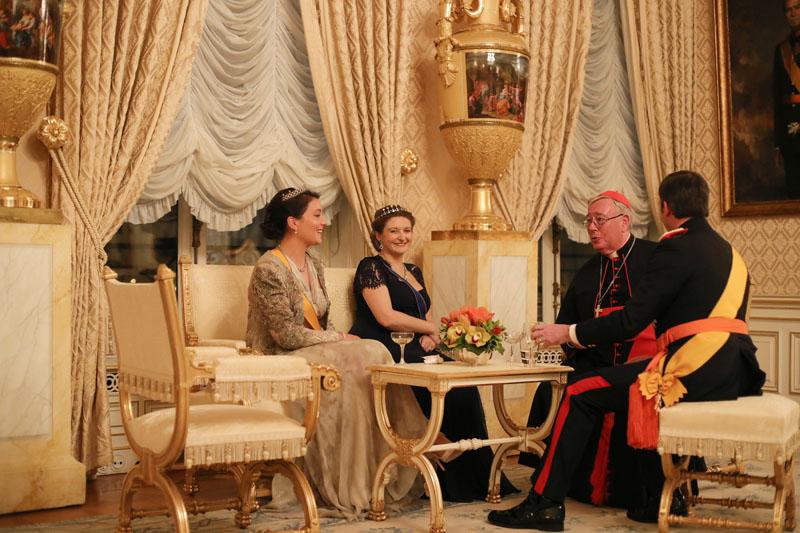 Réception du Nouvel An au Palais grand-ducal