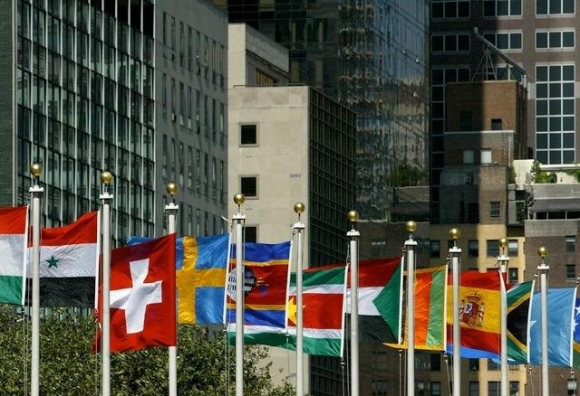 Le QG onusien, à New York (ici), accueille lundi le lancement de la discussion sur l'abandon de l'arme nucléaire.
