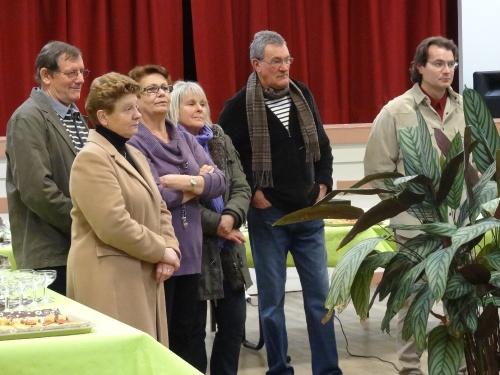 Les voeux de Francis Castella, Maire de Sainte Colombe sur Seine...