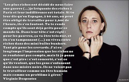 En France les riches n'en ont rien à foutre des pauvres.
