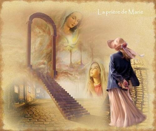 """Défi fée capucine """"La prière de Marie"""""""