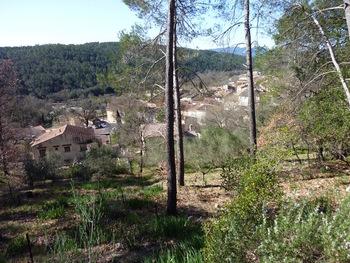 En balcon sur la vallée du Caramy