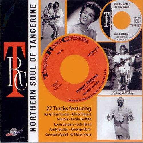 "Various Artists : CD "" Northern Soul Of Tangerine Record Corporation "" Soul World Records SW 105 [ TH ]"