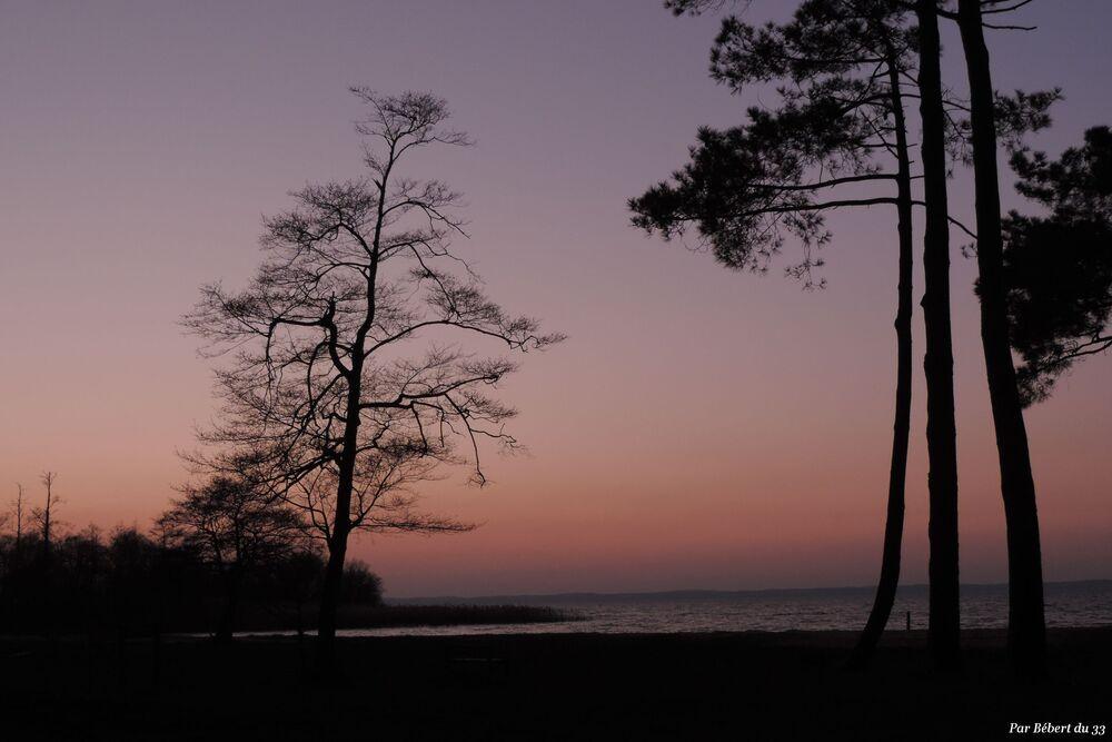 un soir au lac de Sanguinet  (40)