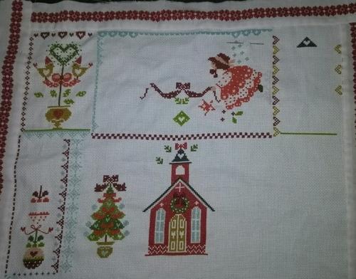 Christmas in quilt, avancées depuis 3 semaines
