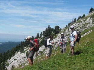 02 août 2016 - Les Rochers de la Balme et le Pas Ernadant