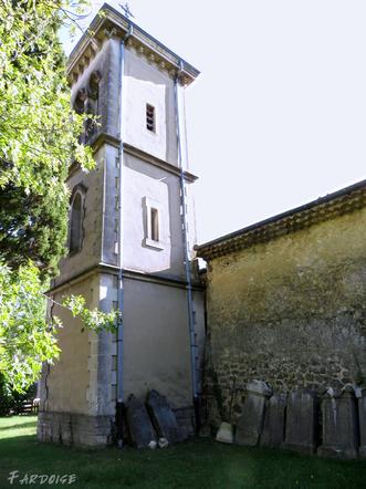 Le village de Combovin, suite : autour de l'église