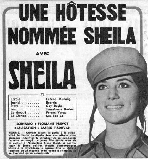 UNE HOTESSE NOMMEE SHEILA / N°4