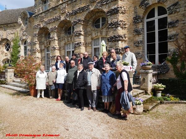 Le musée de l'aviation à Savigny les Beaune, découvert avec la FNATH....