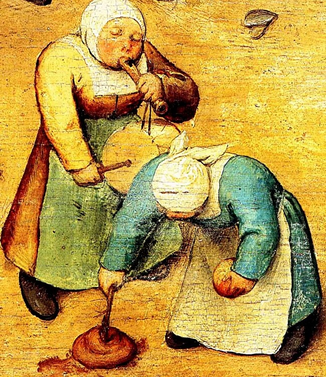 3.Bruegels / Les jeux d'enfants ...