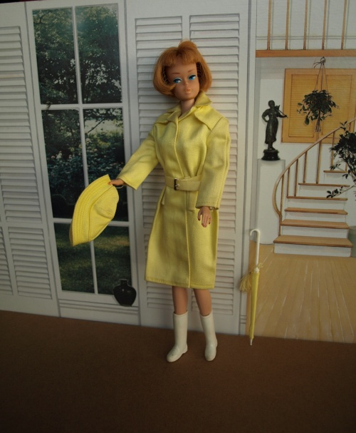 Barbie vintage : Rain Coat