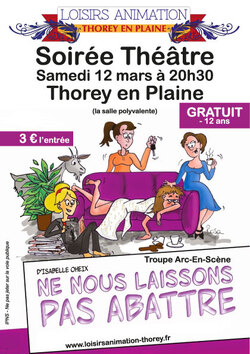 Théâtre à Thorey En Plaine
