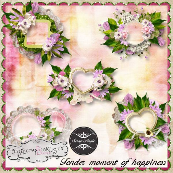 """Tender moment of happiness""de Scrap'Angie"