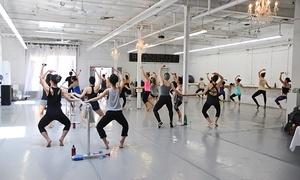 dance ballet class stretching class