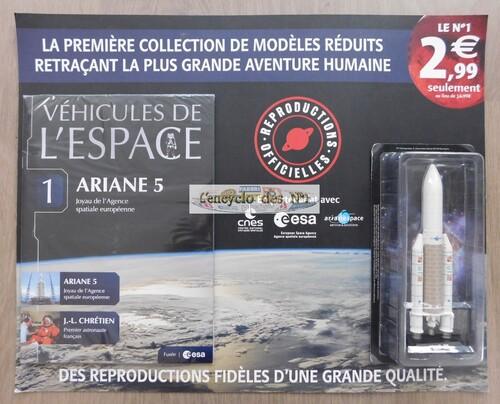 N° 1 Les véhicules de l'espace - Test