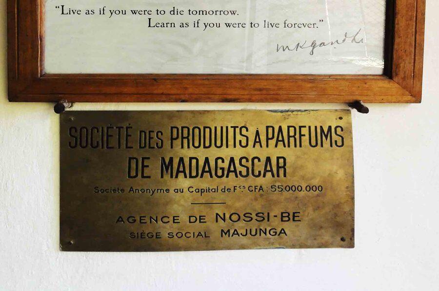 « Parfum de paradis à Nosy Be »