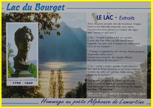 Le lac Alphonse de Lamartine