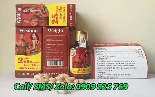 Địa chỉ mua thuốc tăng cân Wisdom Weight tại Sóc Trăng ở đâu CHÍNH HÃNG