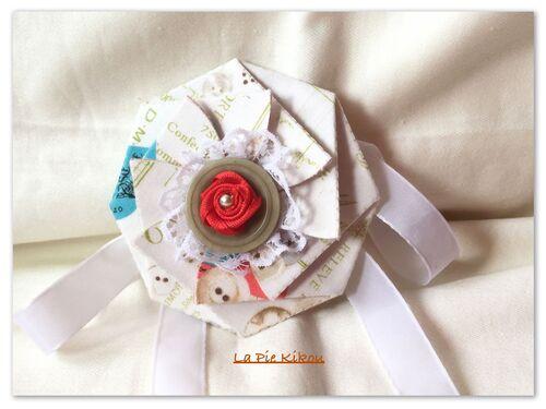 fleur à boutons