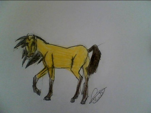 Le cheval spirit dessin jolie - Comment dessiner spirit ...