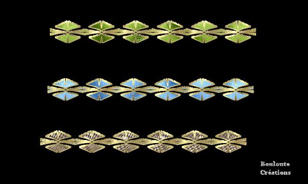 Quelques barres de séparation