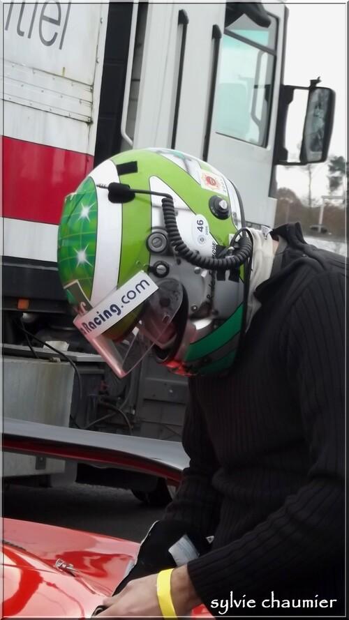 Jean-René Defournoux avec  Zosh Lotus gt sur le Circuit Bugatti (24 novembre 2012 )