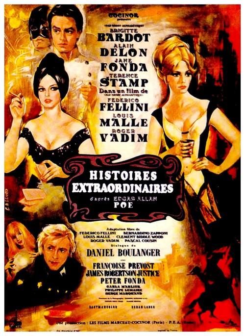 HISTOIRES EXTRAORDINAIRES -  BRIGITTE BARDOT BOX OFFICE 1968