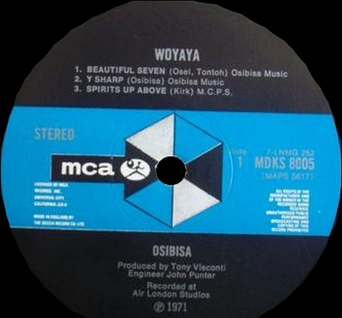 "1971 : Album "" Woyaya "" MCA Records MDKS 8005 [ UK ]"