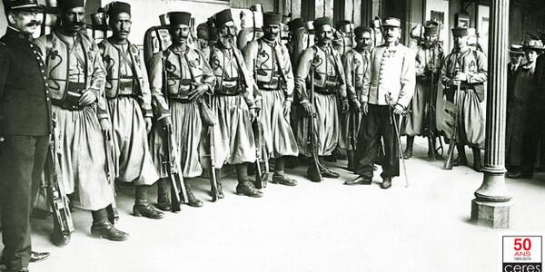 L'Armée d'Afrique  et l'Armistice du 11 novembre 1918