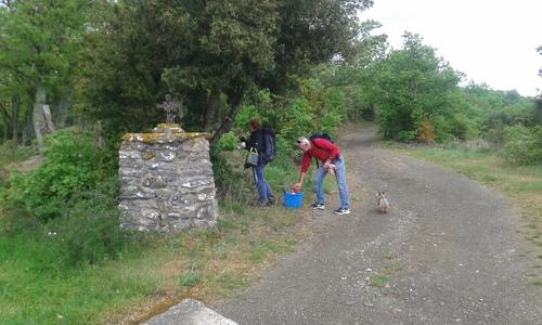 Balisage Termes - Villerouge-Ters (Aude) Club de randonnée des Hautes Corbières