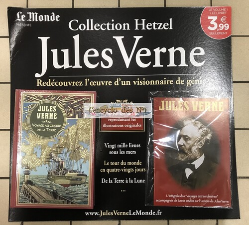 N° 1 collection Hetzel - Jules Verne