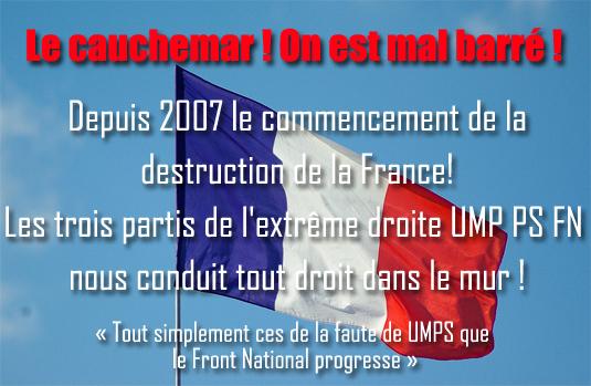 """""""Tout simplement l'Elysée s'inquiète de voir le Front national progresser"""""""