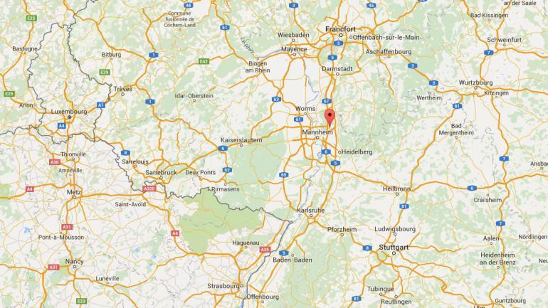 Un homme a ouvert le feu dans un cinéma, à Viernheim, en Allemagne, jeudi 23 juin 2016.