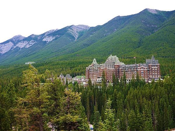 Jour 16 Banff Hotel Fairmont bis