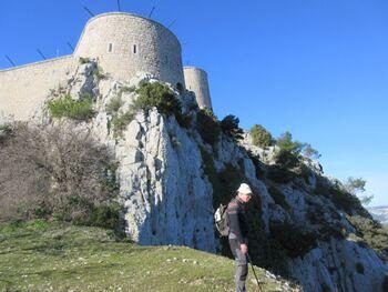 Les tours du fort de la Croix-Faron