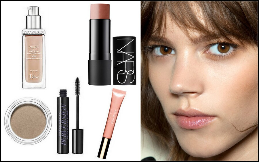 Make-Up nude de Freja Beha
