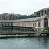 Le Batiment des Forces Motrices sur le Rhône à Genève