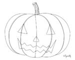 Dessins sur le thème d'Halloween