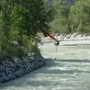 Dragage du fleuve vers Sierre