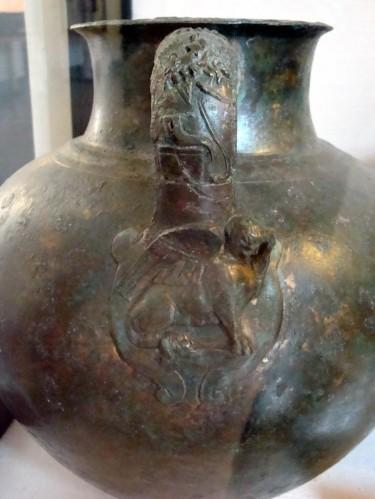Vase en bronze