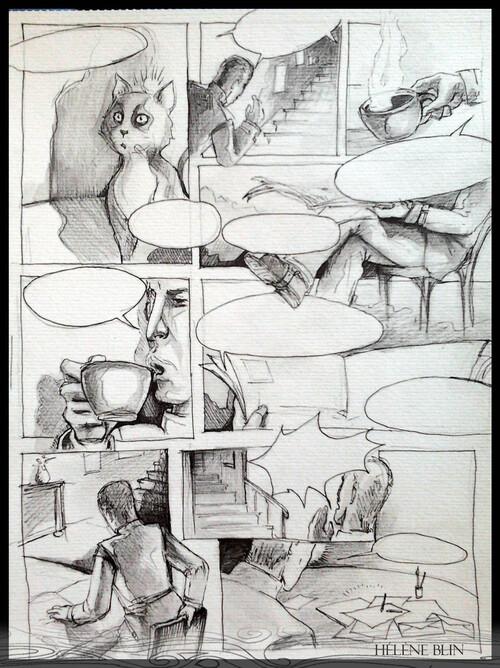 Thira, nouveaux dessins.