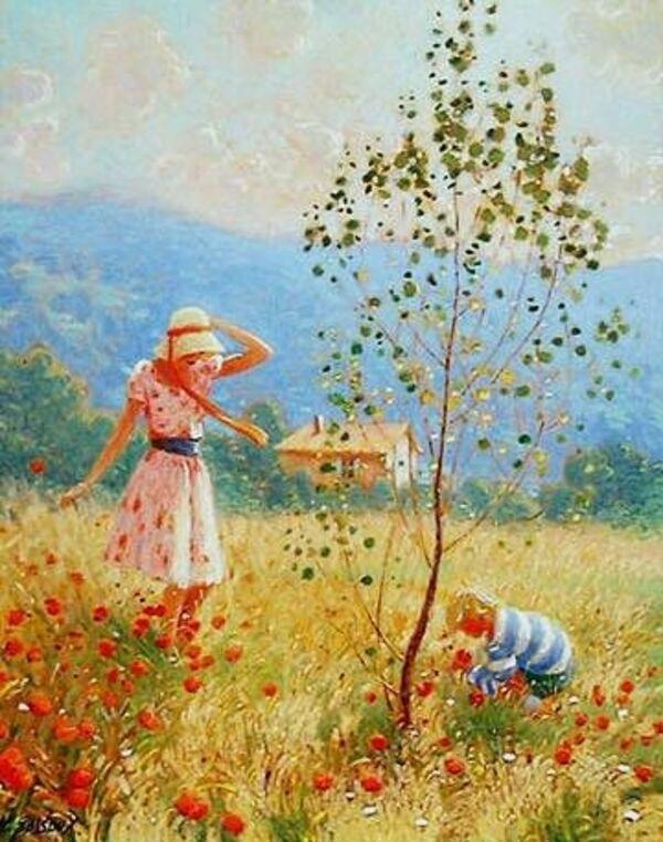 Peinture de : Claude Fossoux